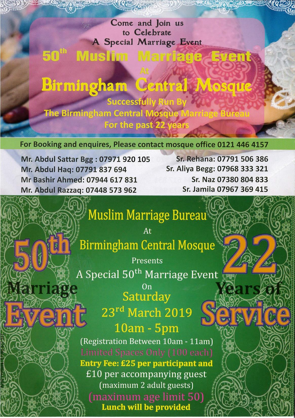 Muslim marriage bureau uk  The Muslim Matchmakers UK  2019-05-01